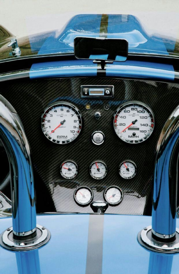 1965 Shelby Cobra Replica - Snail-Fed SerpentTwo Turbos; No Waiting  Read more:http://www.mustangandfords.com/featured-vehicles/1407-1965-shelby-cobra-replica-snail-fed-serpent/#ixzz35fXpwfii