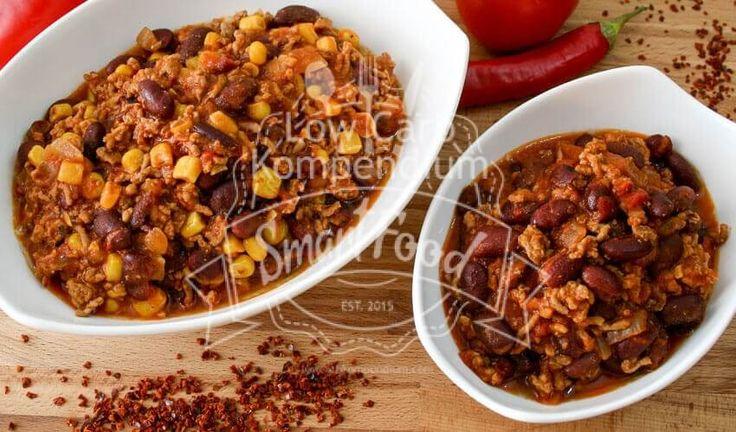 Chili con Carne ist einfach zu kochen & dazu noch ein wahnsinnig leckeres Low Carb Rezept. Chili con Carne ist perfekt für jede Gelegenheit