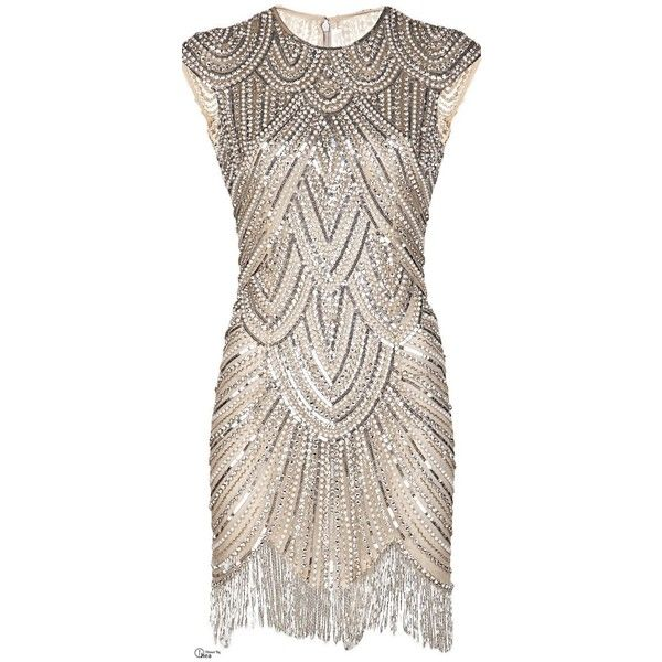 Vintage Style 1920s Flapper Dresses for Sale ❤ liked on Polyvore featuring dresses, short dresses, vintage, gatsby dress, vintage style cocktail dresses, vintage 20s dresses, 1920s flapper dress and vintage dresses