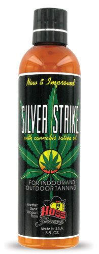 Hoss Sauce Silver Strike with Hemp Tanning Lotion From Lotion Source