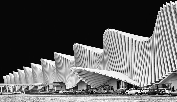 Railway station - Reggio Emilia - Italy - Calatrava's railway station - Reggio Emilia - Italy