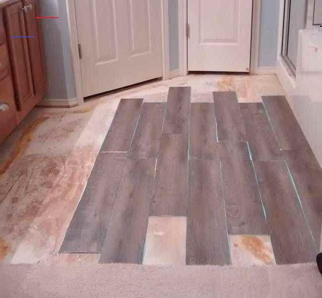 Peel And Stick Vinyl Plank Flooring Diy Sprinkled With Sawdust Peel And Stick Vinyl Plank Flooring Diy In 2020 Vinyl Plank Flooring Diy Flooring Plank Flooring Diy