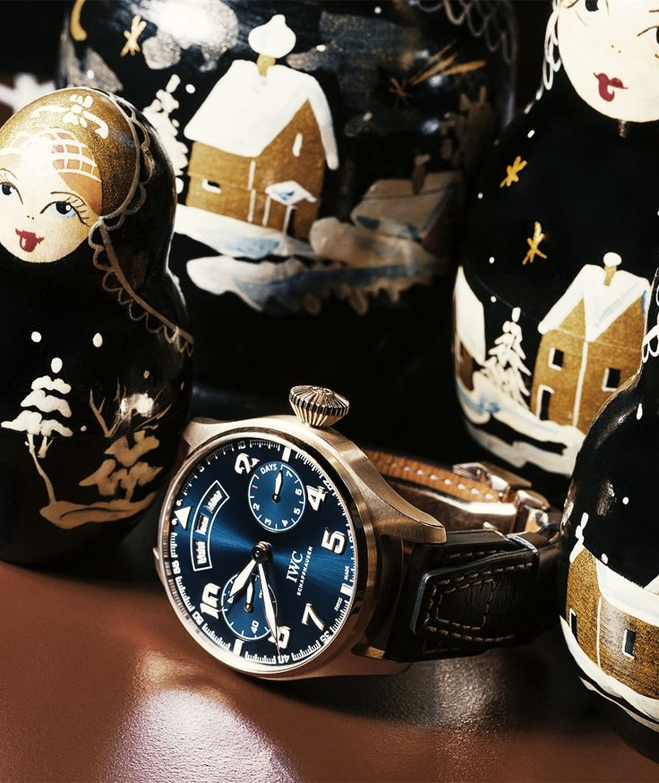 "Happy holidays from IWC! Discover the IWC Big Pilot's Watch Annual Calendar Edition ""Le Petit Prince""."