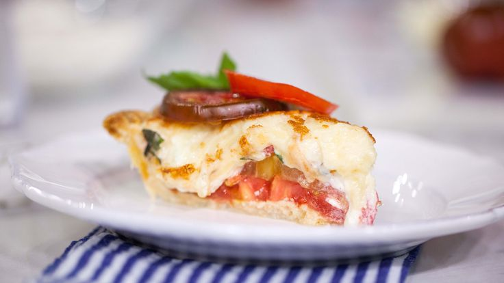 Give tomatoes the love they deserve with this simple tomato pie