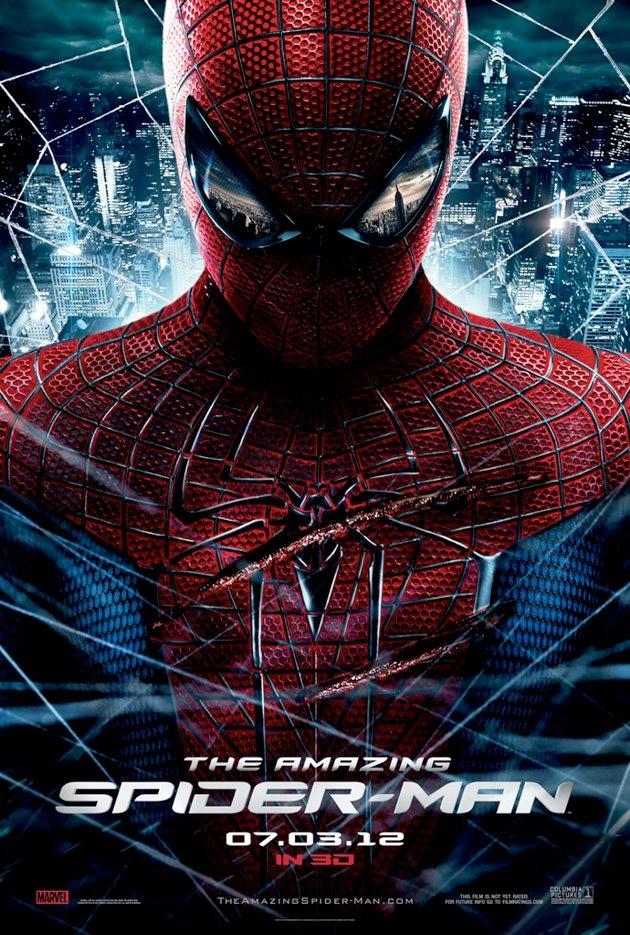 """El poster de la nueva """"The Amazing Spider-Man"""". Bastante baqueteado se lo ve al pobre :P"""