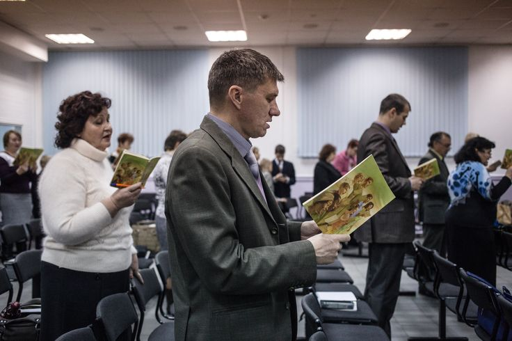 In the birthplace of Anton Chekhov, Jehovah's Witnesses share the same legal status as al-Qaeda.