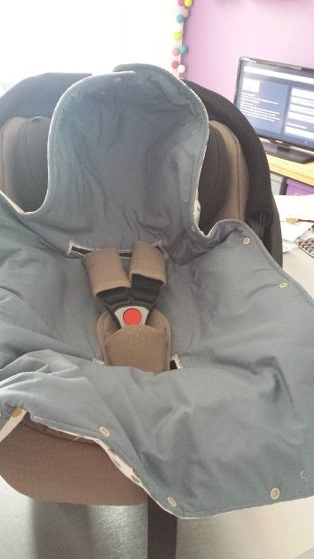 Nid d'ange siege auto par lilisuips - thread&needles