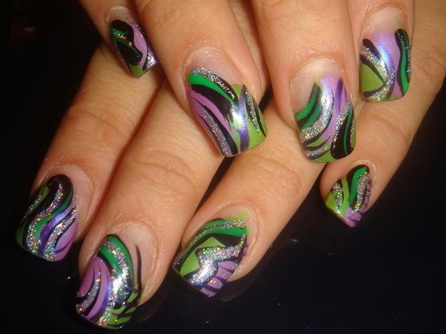jungle colors design | CrAzY nAiLs! | Pinterest