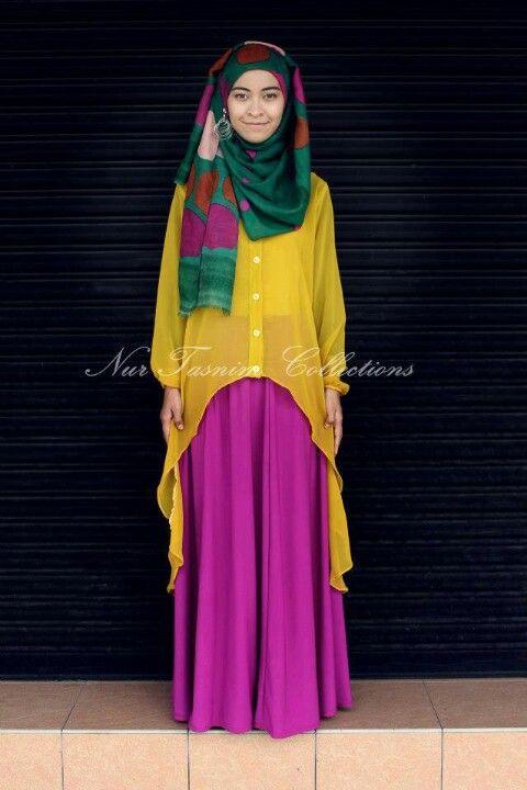 Hijab, this is sweet... Simply elegant