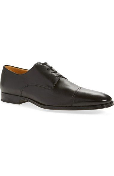 Bally 'Timber' Cap Toe Derby (Men) available at #Nordstrom