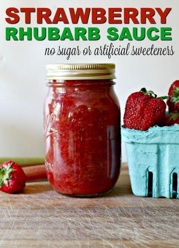 How to Make My Strawberry Rhubarb Sauce Recipe – #recipe #rhubarb #Sauce #strawb…