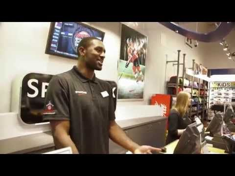 Patterson Goes Undercover At Sport Chek - YouTube