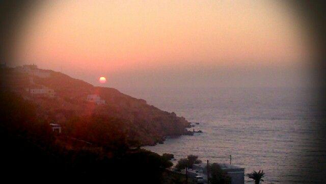 Unique ever sunset from pino di loto...