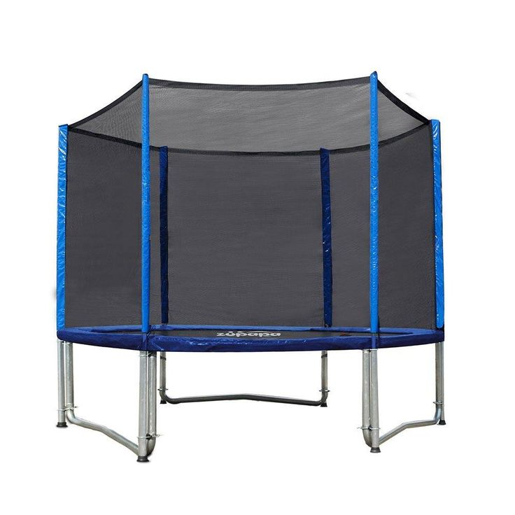 Zupapa 10FT Trampoline with Enclosure