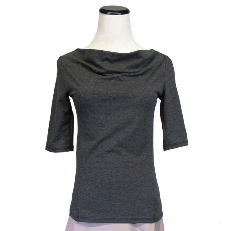SALE! Cybele Top in Heather Grey by Aimee G.