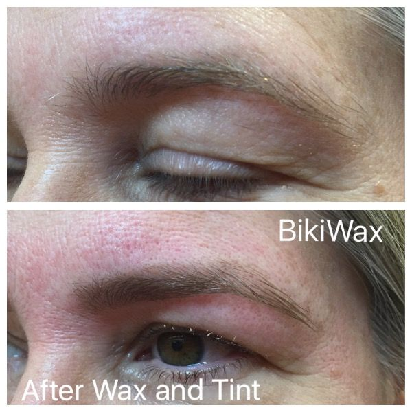 A little bit of eye lifting with the right eyebrows shaping