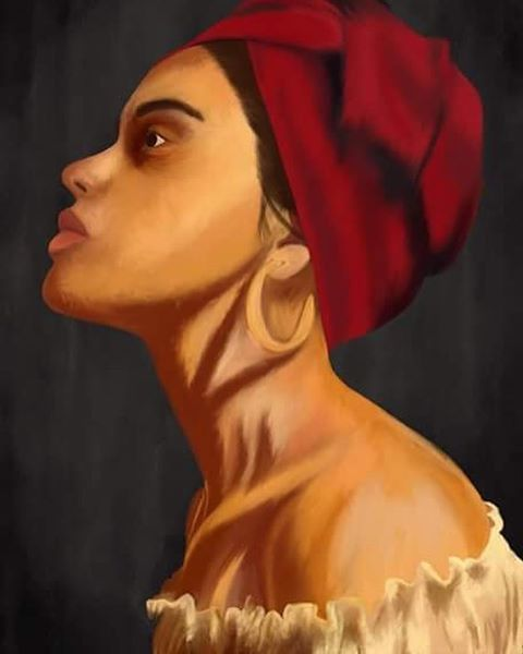 Second digital try. Drawn by Pernille Eleonora Yde.