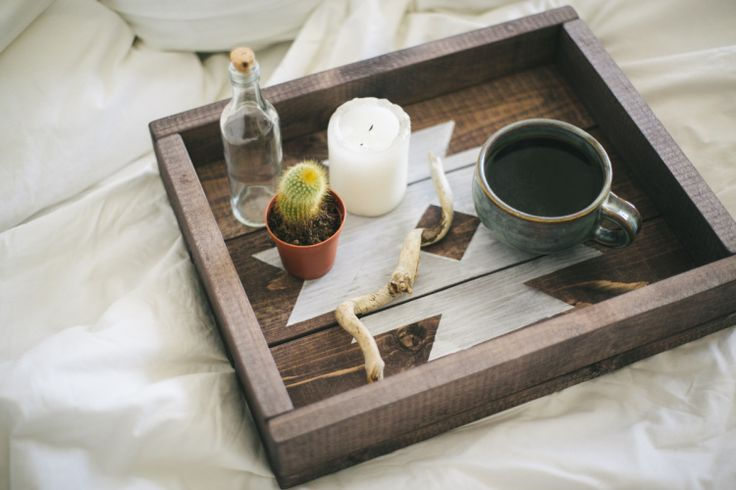 DIY Wooden Tray // Simple + Beyond