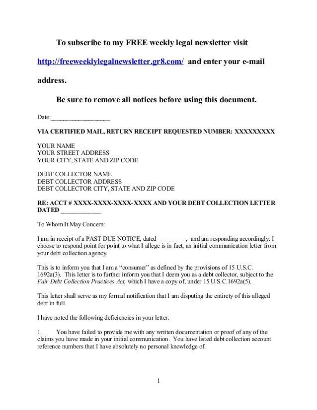 New Debt Validation Letter Sample Download Http Letterbuis Com New Debt Validation Letter S Resume Cover Letter Template Cover Letter Template Free Lettering