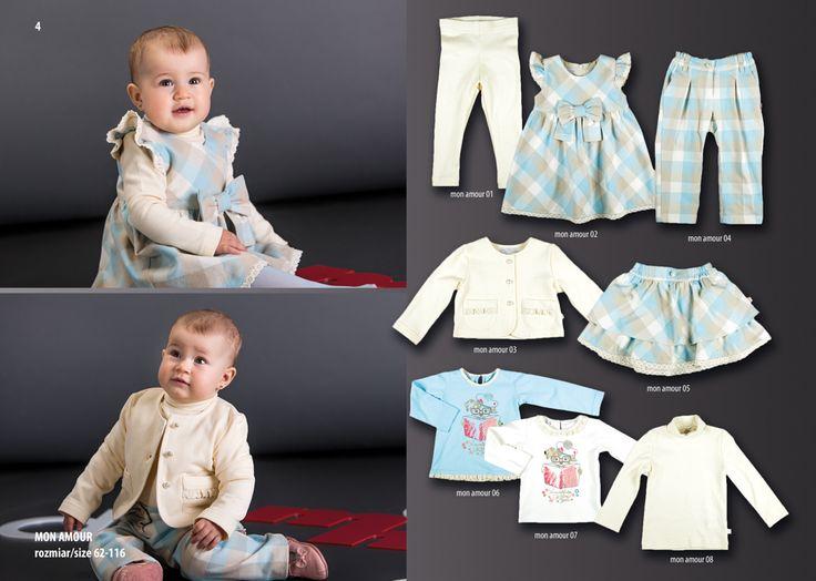 Kolekcje zimowe dla niemowląt na sezon 2015/16