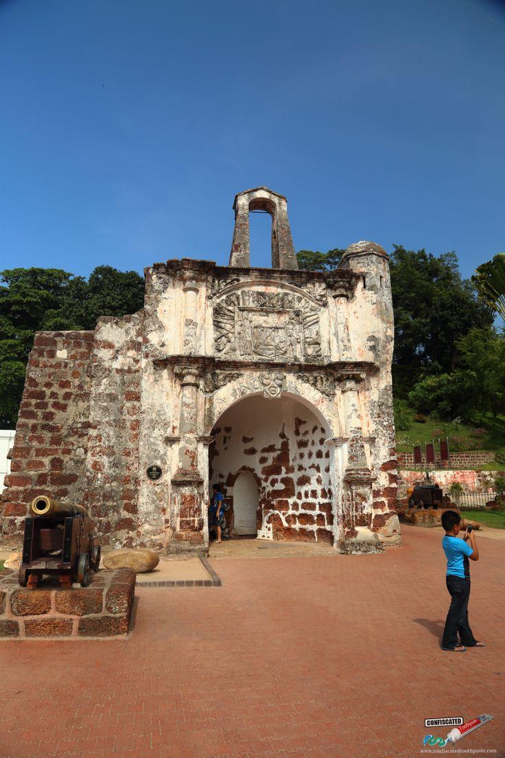 A' Famosa   :::::::The Colonial Romance of Malacca: Kuala Lumpur to Singapore Overland --> http://www.confiscatedtoothpaste.com/kuala-lumpur-to-romantic-malacca-to-singapore-overland/