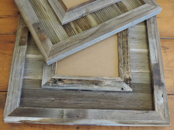 Durango Reclaimed Wood / Western Picture Frame 4 X 6 by ABWframes