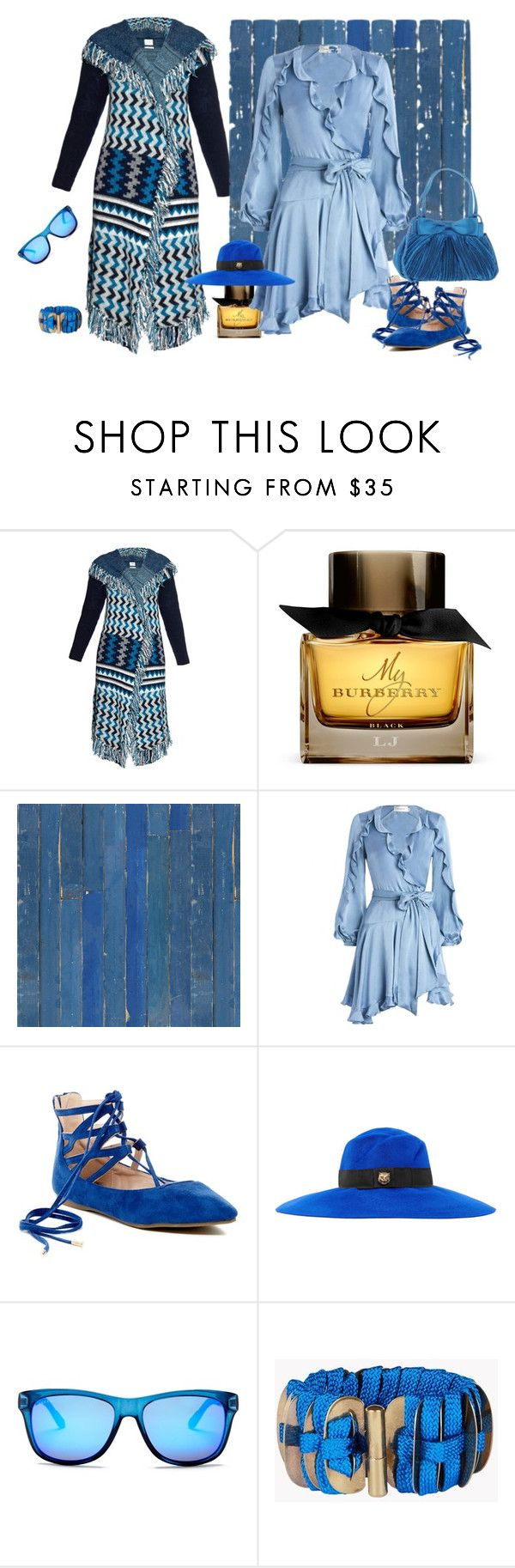 """""""royaal!!"""" by tailichuns on Polyvore featuring Banjo & Matilda, Burberry, NLXL, Zimmermann, Gucci and Dsquared2"""
