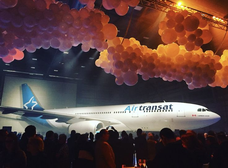 Air Transat dévoile sa nouvelle livrée