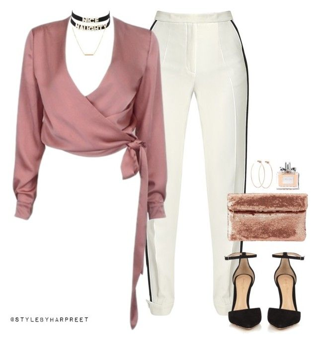 """""""Untitled #188"""" by stylebyharpreet ❤ liked on Polyvore featuring Elie Saab, Gianvito Rossi, Charlotte Russe, Dutch Basics, Diane Kordas and Christian Dior"""