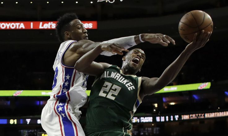 How Khris Middleton is putting the Bucks back into the playoff hunt = The Milwaukee Bucks were thinking that they could make a playoff push when Khris Middleton came back from a torn hamstring. The future of the franchise, Giannis Antetokounmpo, was rolling. Jabari Parker was finding his rhythm and scoring in bunches. But the day that Middleton returned, Parker tore his ACL and the playoff hopes plunged. The next game, the Bucks fell to the lowly Los Angeles Lakers, a 22-30 record and seemed…