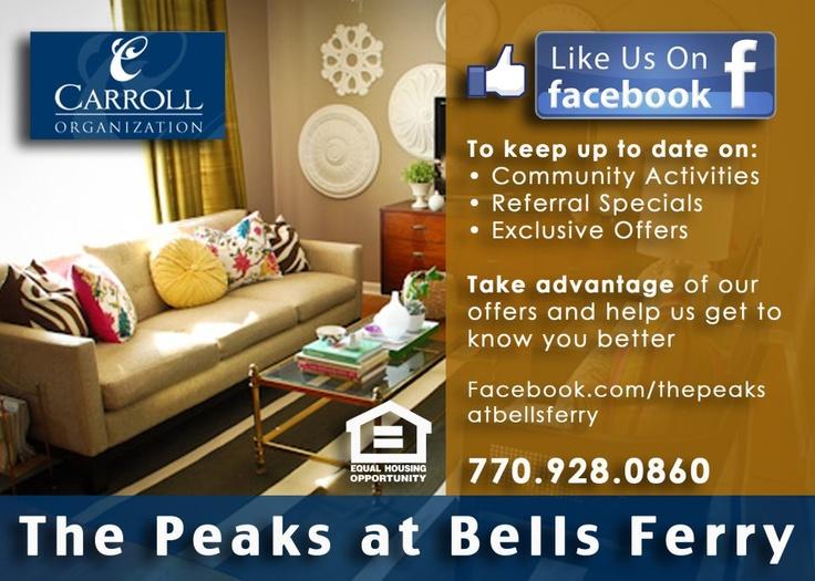 Like us on Facebook Flyer Design Community activities
