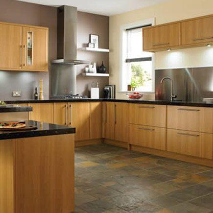 Kitchen-compare.com - Wickes Hudson Oak Effect.