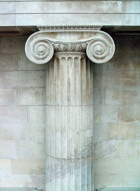Greek Column - British Museum