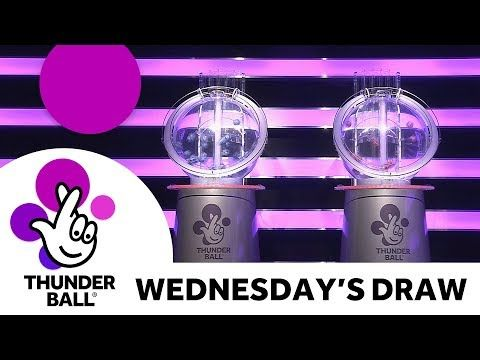 The National Lottery 'Thunderball' draw results from Wednesday 2nd August 2017 - (More info on: https://1-W-W.COM/lottery/the-national-lottery-thunderball-draw-results-from-wednesday-2nd-august-2017/)