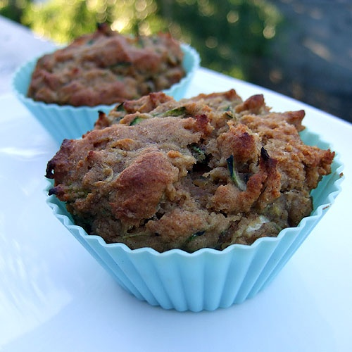 Zucchini Olive Oil Muffins (Gluten, Corn and Dairy Free - of course!)