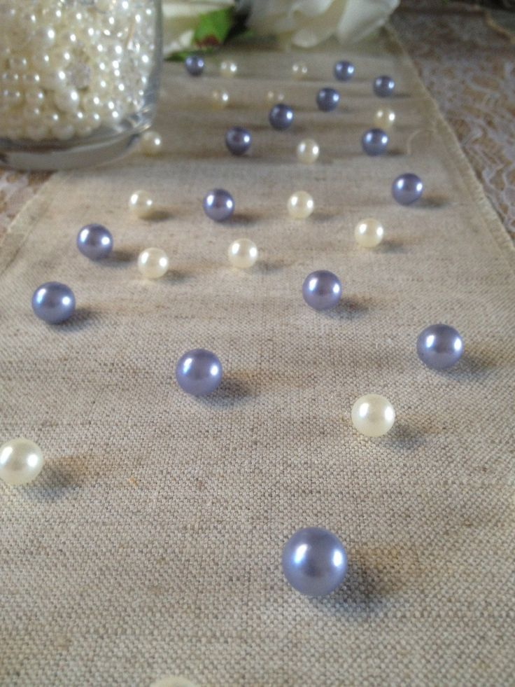 Vintage Table Pearl Ters Lavendar And Ivory Pearls For Wedding Parties Special Events Decor