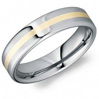 Crown Ring - Collections Alternative Metal Tungsten Carbide Tu 0120 S
