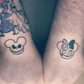 Or you can do a little fun crossover work. | 27 Stunning Reasons To Get A Tim Burton Tattoo