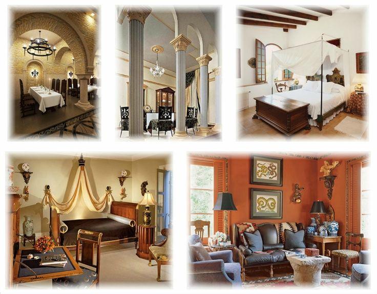 Стили интерьера. В интерьере романского стиля также скорее мощь, нежели изящество. Все элементы интерьера производят ощущение простоты и тяжести, почти отсутствуют декоративные украшения комнат.
