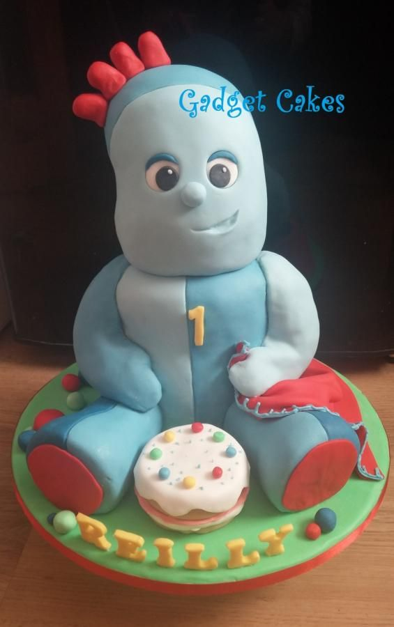 Iggle Piggle Cake in the night garden - Cake by Gadget Cakes