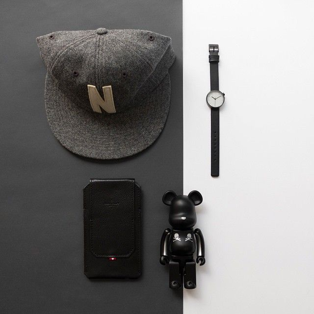 Weekend Essentials: Nendo Stencil Series, Hard Graft All in One Phone Case and Mastermind Japan x Sense x Medicom Toy Bearbrick.  Available for purchase at www.thewatch.co/essentials  #essentials #thewatchco #nendo #hardgraft