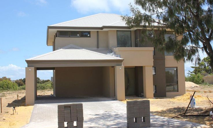 Fast build light weight 2 storey homes, nearing completion