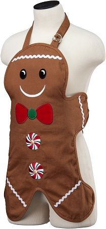 Kids Gingerbread Apron