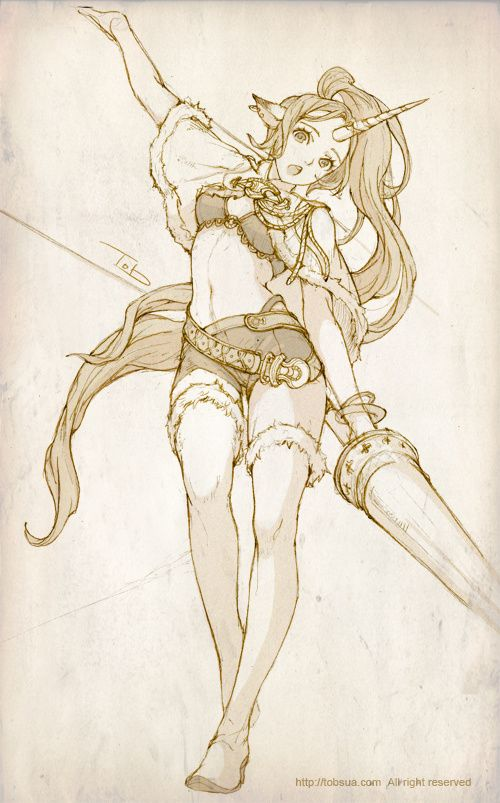 2012년 1월 11일 오후 7시 5...@爱娅采集到韩国画师1(90图)_花瓣插画