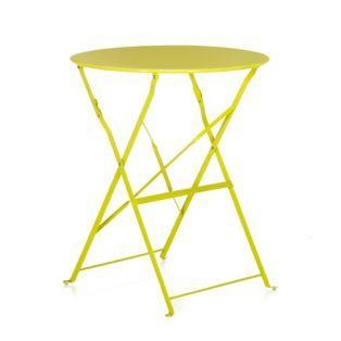 Table de jardin pliante ronde (plusieurs coloris disponibles) - Pims - Les tables de jardin - Les tables et chaises - Jardin - Décoration d'intérieur - Alinéa