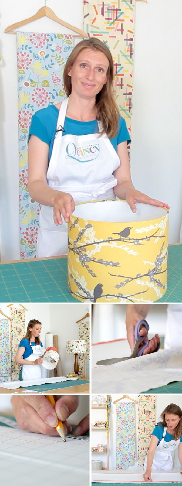Win a lampshade kit and 50 vouchers to watch the DIY video tutorial
