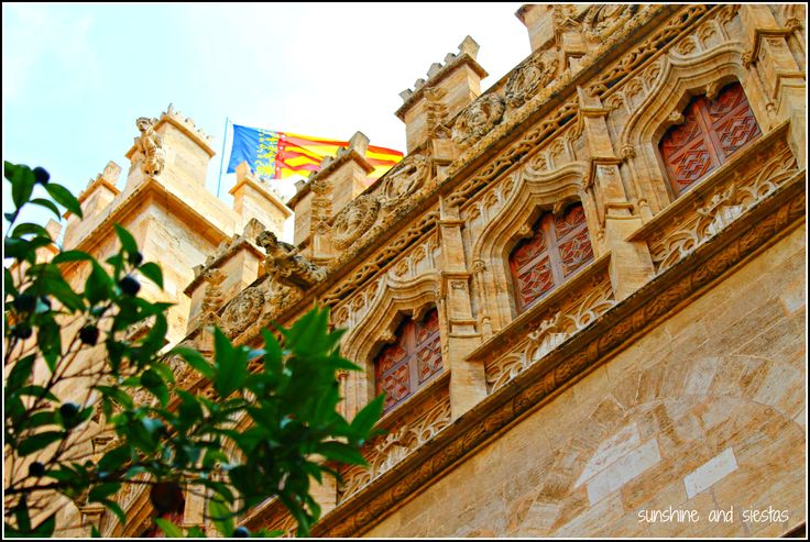 Spain Snapshots: The Lonja de la Sede, Valencia