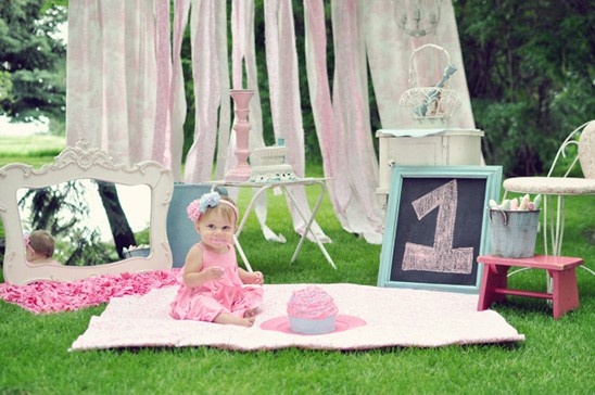 girly first birthday