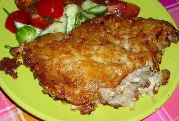 Самые вкусные рецепты: Мясо в картофельной корочке