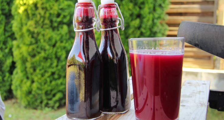 Egyszerű feketeszeder szörp recept | APRÓSÉF.HU - receptek képekkel